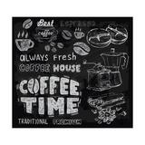 Coffee on Chalkboard