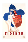 Travel Poster for Firenze
