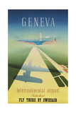 Geneva Travel Poster