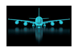 Commercial Aircraft Mesh