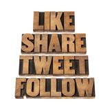 Like  Share  Tweet  Follow Words