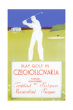 Golfing in Czechoslovakia