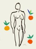 Verve - Nu aux oranges