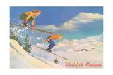 Skiing  Whitefish