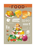 Food Info Graphic Elements