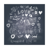 Blackboard Romantic Set