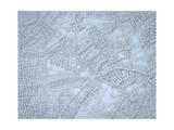 Rough Blue Map