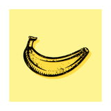 Hand Drawn Banana