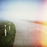 Designed Retro Photo: Open Road