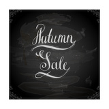 Autumn Sale Hand Lettering  Handmade Calligraphy