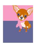 Illustration of a Chihuahua Dog