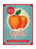 Vintage Styled Fresh Apples