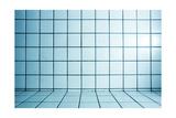 Background of Beautiful Modern Turquoise Luxury Bathroom Interior