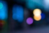 Abstract Blur Urban Street Lighting