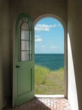 Arched Doorway to Beach