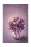 Autumn Purple Flower in a Vase
