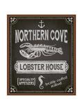 Chalkboard Poster for Seafood Restaurant