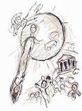 Plafond de l'Opéra: Daphnis et Chloe