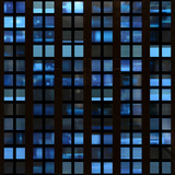 Texture Resembling Illuminated Windows in a Building at Night