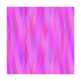 Geometric Background in Shades of Lilac