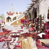 Textiles in Qatari Souq