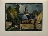 L'Eglise de Bougival  1913