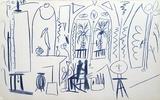 Carnet de Californie 35 Reproduction pour collectionneurs par Pablo Picasso