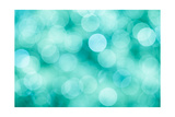 Blue  Green and Turquoise Festive Background