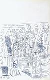 Carnet de Californie 26 Reproduction pour collectionneurs par Pablo Picasso