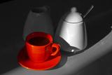 Red Cup of Coffee Papier Photo par Jam-design.cz