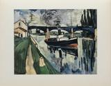 La Seine a Poissy  1908
