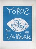 AF 1957 - Toros en Vallauris Reproduction pour collectionneurs par Pablo Picasso
