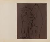 LC - Picador et cheval Reproduction pour collectionneurs par Pablo Picasso