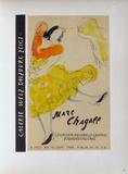 Af 1957 - Galerie Welz Reproduction pour collectionneurs par Marc Chagall