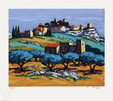 Provence : paysage à Eygalières III