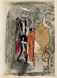 Carnets Intimes 13 Reproduction pour collectionneurs par Georges Braque