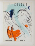 Af 1957 - Kunsthalle Berne Reproduction pour collectionneurs par Marc Chagall