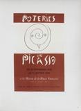 AF 1948 - Poteries de Picasso Reproduction pour collectionneurs par Pablo Picasso