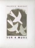 AF 1956 - Galerie Maeght Sur 4 Murs