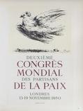 AF 1950 - Deuxième Congrès Mondial des Partisans d Reproduction pour collectionneurs par Pablo Picasso