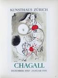 Af 1951 - Kunsthaus Zürich Reproduction pour collectionneurs par Marc Chagall