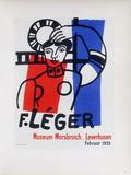 Af 1955 - Musée Morsbroich Reproduction pour collectionneurs par Fernand Leger