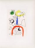 Af 1954 - Derrière Le Miroir Reproduction pour collectionneurs par Joan Miró