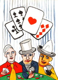 Derrier le Mirroir  no 212: Joueurs De Cartes I