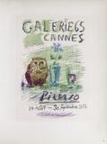 AF 1956 - Galerie 65 Reproduction pour collectionneurs par Pablo Picasso