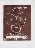 AF 1955 - Exposition Vallauris II Reproduction pour collectionneurs par Pablo Picasso