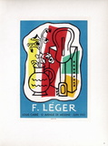 Af 1953 - Galerie Louis Carré Reproduction pour collectionneurs par Fernand Leger