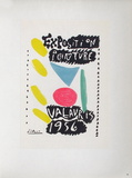 AF 1956 - Exposition peinture Vallauris