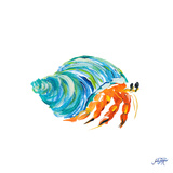 Sea Creatures II Reproduction d'art par Julie DeRice