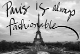 Fashionable Paris